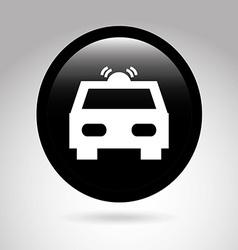 Car button design vector