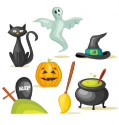 Halloween icon vector image vector image