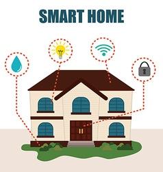 Smart home vector