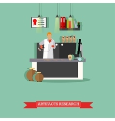 Artifacts research in vector