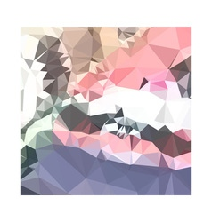 Lavender pink abstract low polygon background vector