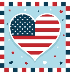 Usa decoration vector