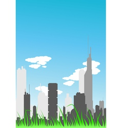 Day city vector
