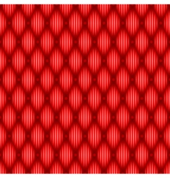 Red seamless texture vector image vector image