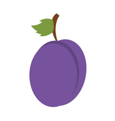 Sweet fruit grape vector