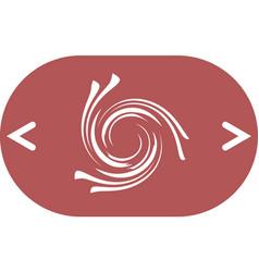 Abstract swirl logo vector