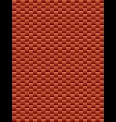 Brick texture geometric seamless background vector