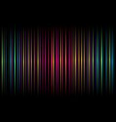 Rainbow stripe graphic design vector