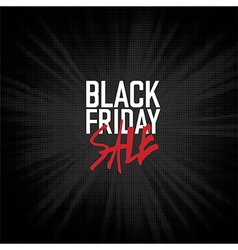 Black friday sales advertising poster vector