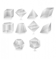 3d shape vector