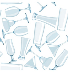 Glass seamless vector