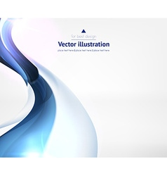 Abstract Line Design Against White Background vector image