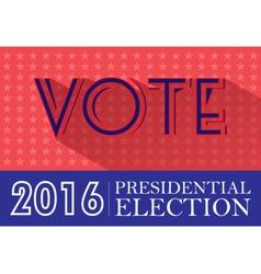 Digital usa presidential election 2016 vector