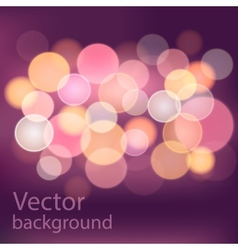 Boke background vector