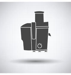 Juicer machine icon vector