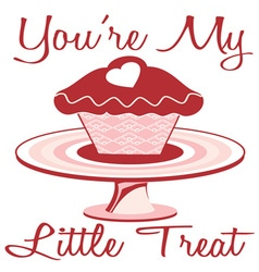 My Little Treat vector image vector image