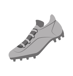Tennis shoes baseball isolated vector