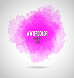 Watercolor splash background vector image vector image