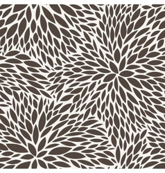Seamless pattern of leaves vector