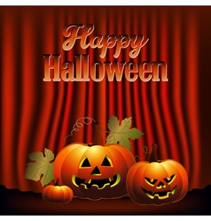 Happy halloween backdrop vector