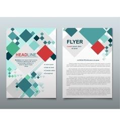 Brochure flyer design vector