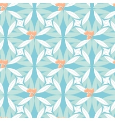 Abstract floral seamless background in pastel hues vector