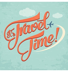 Calligraphic writing its travel time vector