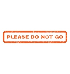 Please do not go rubber stamp vector