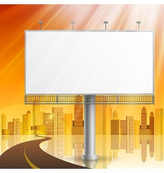 construction on city background vector image vector image