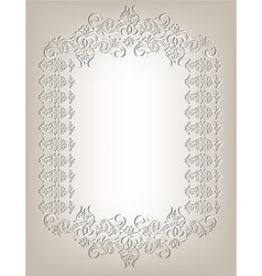 Frame in the Art Nouveau style vector image