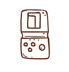 Hand Drawn Tetris vector image
