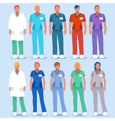 Hospital 01 people 2d vector
