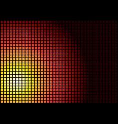 sun square vector image vector image