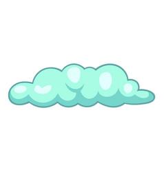 Freezing cloud icon cartoon style vector