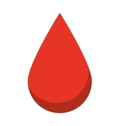 Drop blood isolated icon design vector
