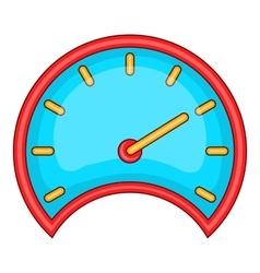 Car speedometer icon cartoon style vector