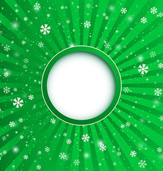 Christmas applique background for your desi vector image vector image