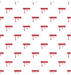 Flowing drop of blood pattern vector