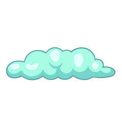 Freezing cloud icon cartoon style vector