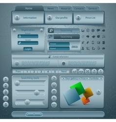 Website template design vector