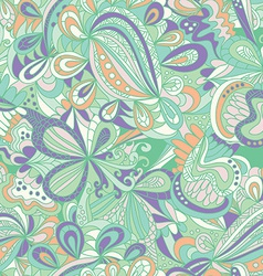 Abstract seamless hand-drawn pattern vector