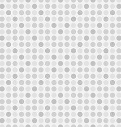 Seamless polka dot background vector