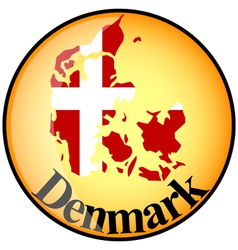 Button denmark vector