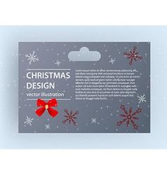 Christmas packaging design vector
