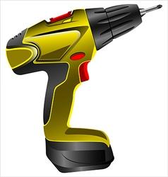 Electric screwdriver vector