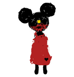 Minnie mouse vector
