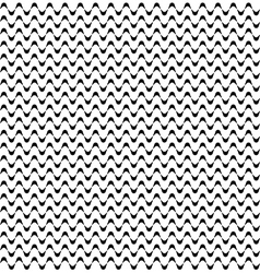 Seamless Minimalistic Wave Pattern vector image vector image