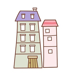 A building vector image
