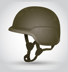 Army helmet vector