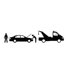 Car breakdown vector